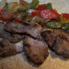 Stir Fried Beef Fajitas