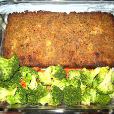 Spiral Meatloaf W/Ham, Broccoli and Cheddar