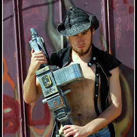 Steampunk #1 by Phil Grierson - People Portraits of Men ( guy, steampunk )