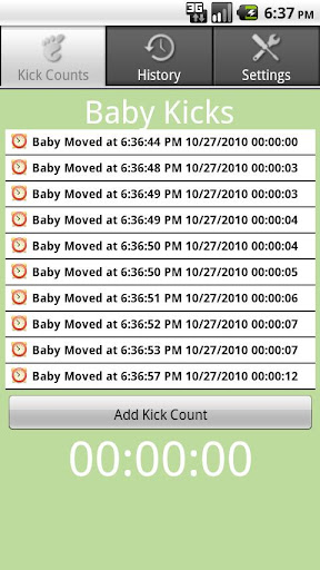 Baby Kick Count