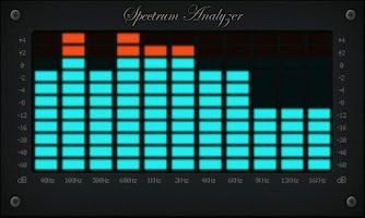 Screenshot of Spectrum Analyzer