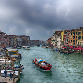 Canal Grande by Ivano Mancino - Landscapes Travel