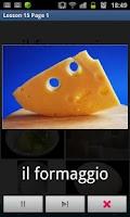 Screenshot of Italian in a Month Free