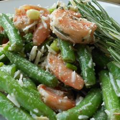 Garlic Lover's Shrimp and Green Bean Salad