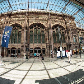 Station Strazbourg by Elena Cosma - City,  Street & Park  Historic Districts