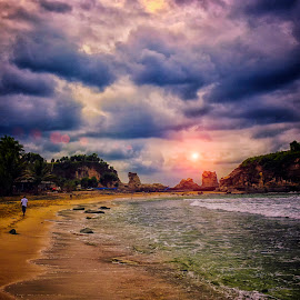 Klayar Beach, Pacitan, East Java, Indonesia by Roynindra Malaon - Instagram & Mobile Other
