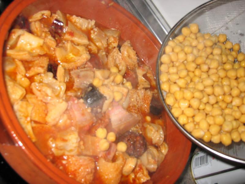 Callos tiernos con garbanzos con truco la cocina de ile for Cocinar garbanzos