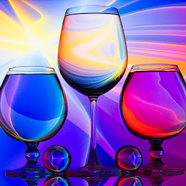The Spectrum.. by Rakesh Syal - Artistic Objects Glass