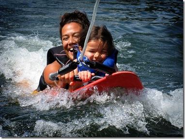 malia lala surfing