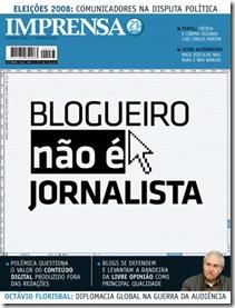 Capa da Revista Imprensa - Set/08