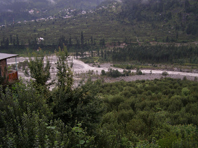 The Beas River as seen from Vasisth
