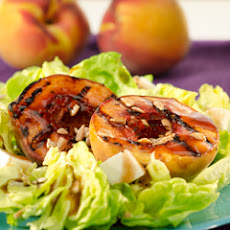 Balsamic Grilled Peaches