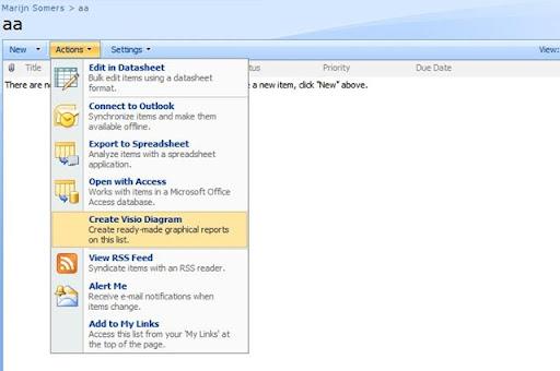 Sharepoint 2007 Visio 2007 Integration Balestra Balestra