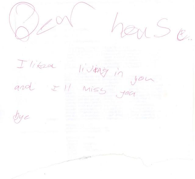 Dear House