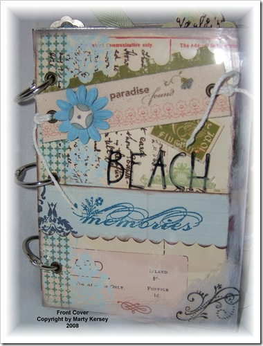A-Front Cover Beach Acrylic Album