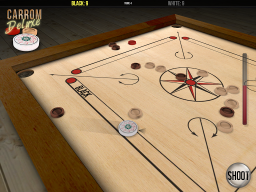 Carrom Deluxe - screenshot