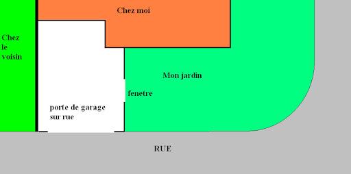 Eclairage pour construire en limite de for Agrandissement maison limite de propriete
