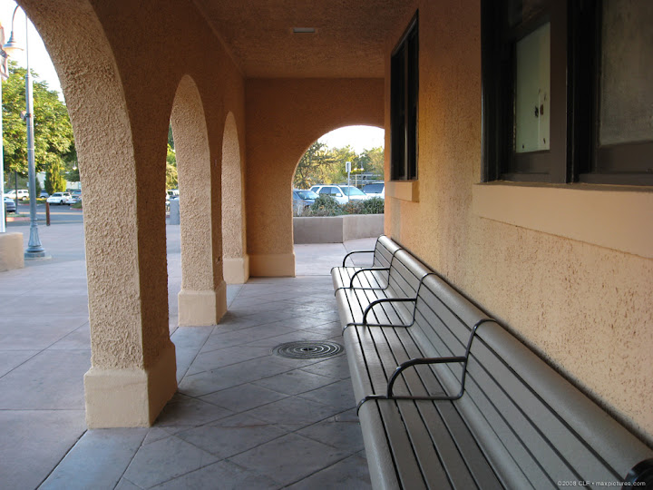 Arches, benches