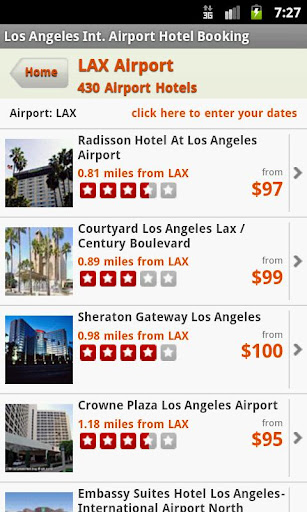 Hotels Near L.A. Airport