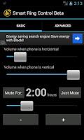 Screenshot of Smart Ring Control