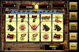 Screenshot of Black Horse Casino Slots FREE