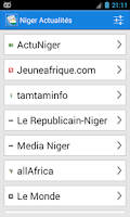 Screenshot of Niger Actualités