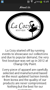 La Cozy Boutique - screenshot