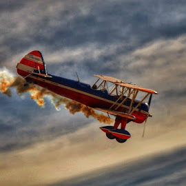 Stearman by Edward Chandler - Transportation Airplanes (  )