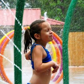 Refreshing! by Teresa Daines - Babies & Children Children Candids