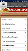Screenshot of Salsa Recipes!!