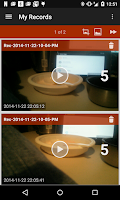 Screenshot of Camera Trigger (Motion Detect)