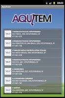 Screenshot of Lista telefônica Aquitem