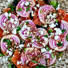 Cara Cara Orange, Beet, and Goat Cheese Salad
