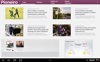 Screenshot of Pioneiro