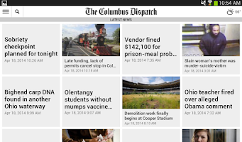 Screenshot of The Columbus Dispatch