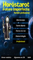 Screenshot of Horóstarot Profesional