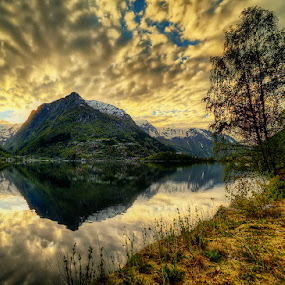 Odda by John Aavitsland - Landscapes Sunsets & Sunrises