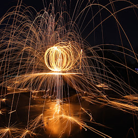 by Liam Hanna - Abstract Fire & Fireworks