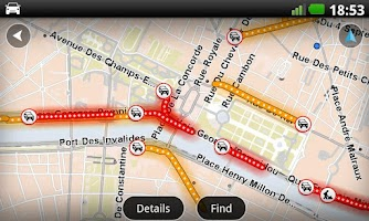 Screenshot of Europe GPS Navigation TomTom