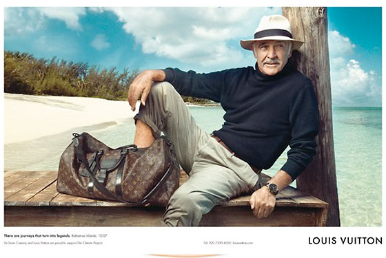 Sean Connery New Louis Vuitton Ad