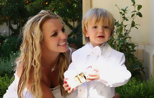 Britney Spears and her son
