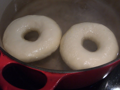 Making Homemade Bagels