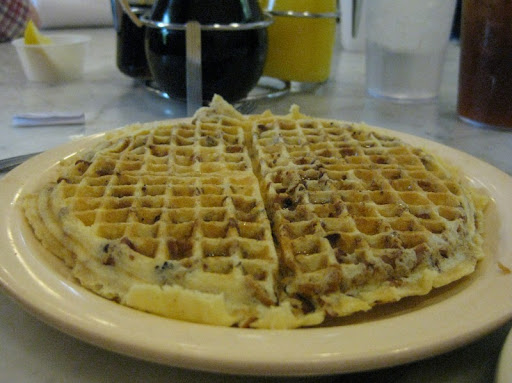 Pecan Waffle at Camellia Grill