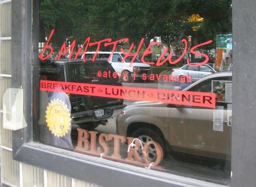 B.Matthews Eatery in Savannah, Georgia