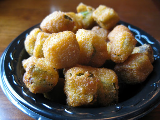 Fried Okra at Bessinger's
