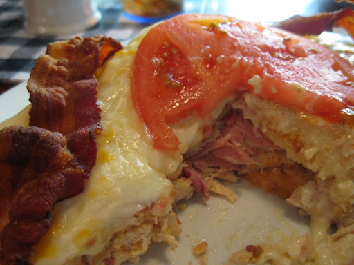 Kentucky Hot Brown at Mammy's Kitchen in Bardstown, KY