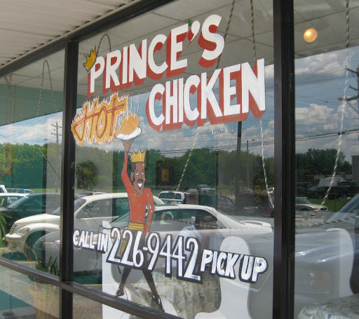 Prince's Hot Chicken in Nashville, Tennessee