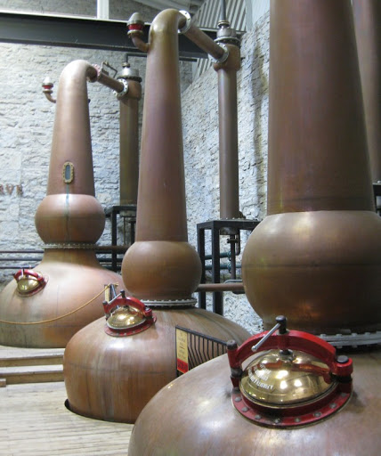 Copper Pot Stills at Woodford Reserve Distillery