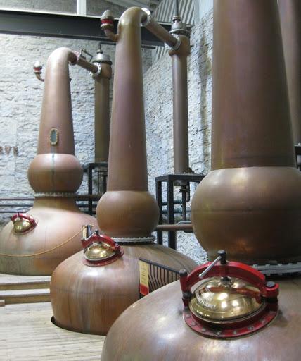 Copper Pot Stills at Woodford Reserve Distillery