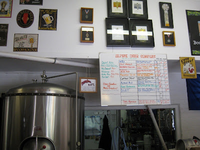 Inside Alpine Beer Company